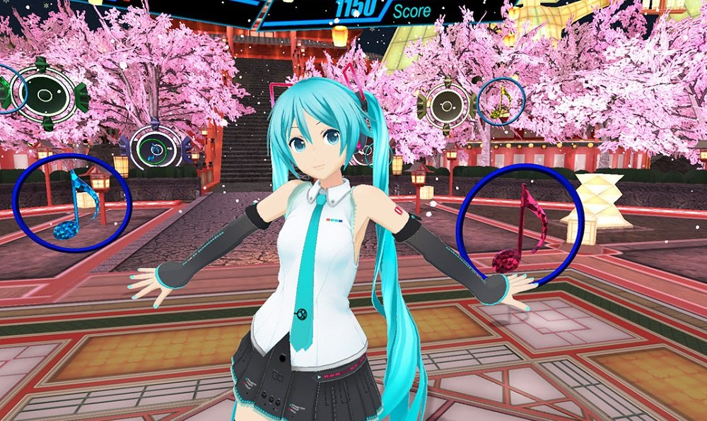 Get your groove on with Hatsune Miku VR next month screenshot