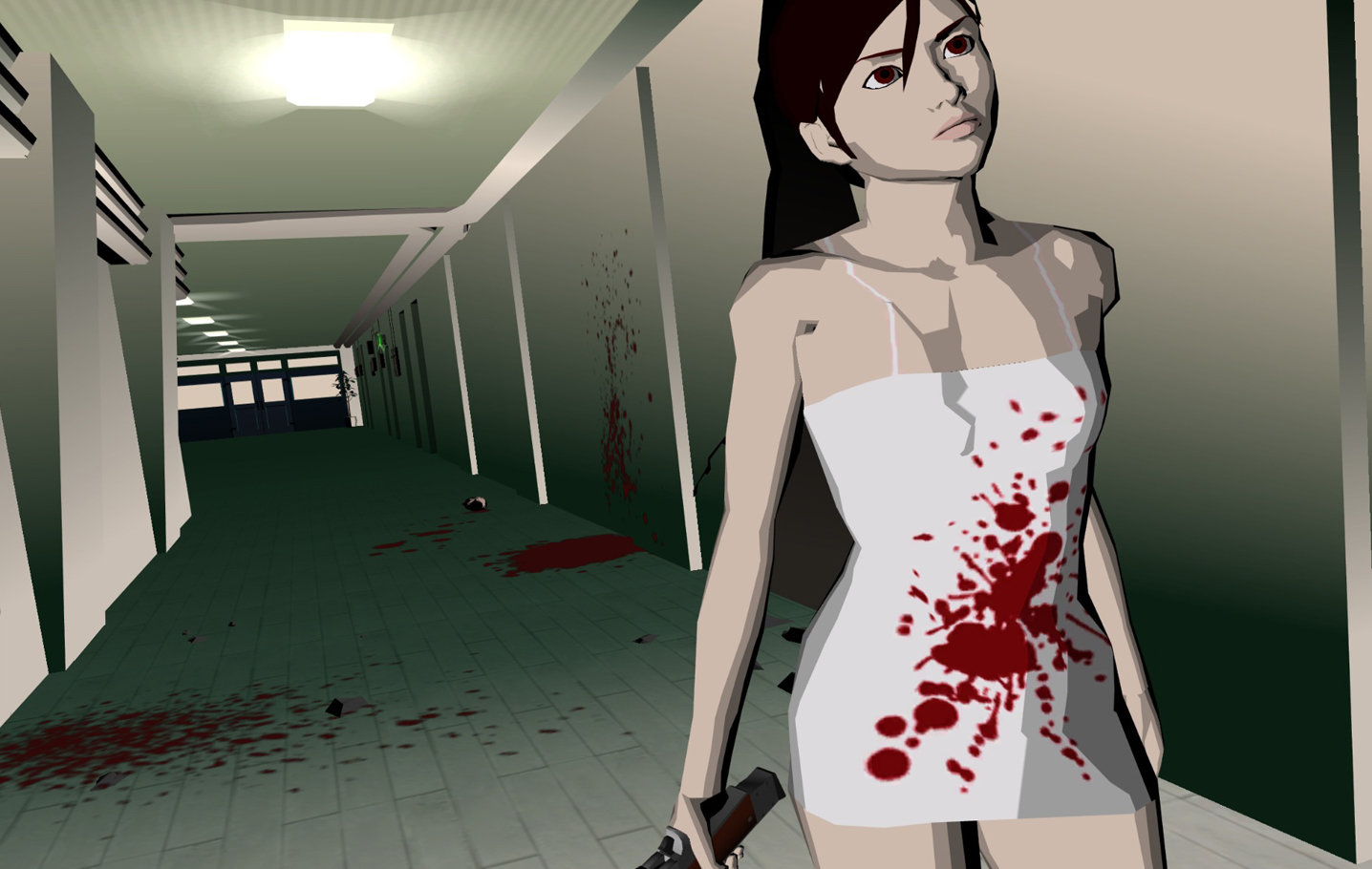 Killer7 won't stay dead because of Let It Die screenshot