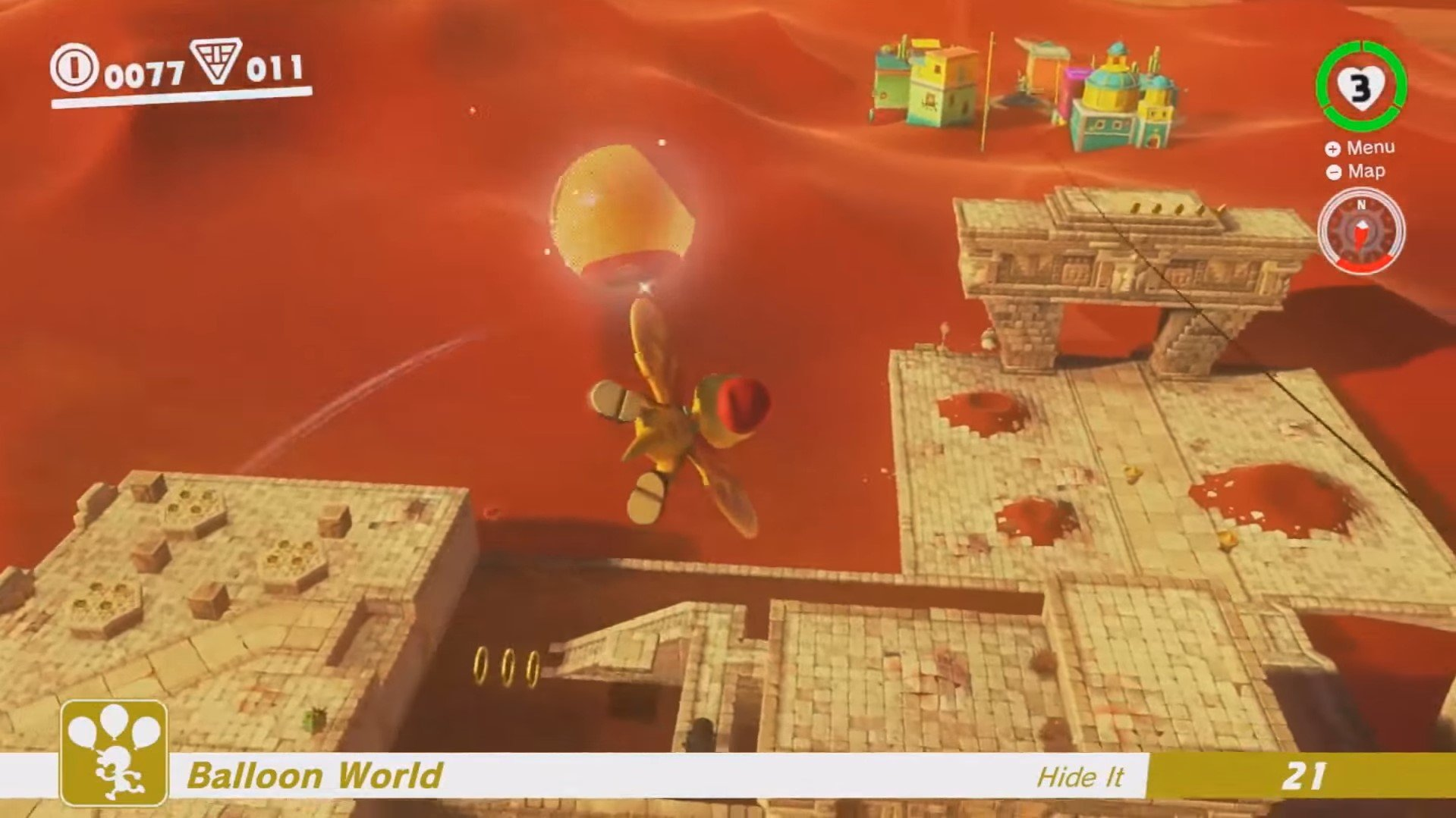 Balloon World is the DLC Super Mario Odyssey needed most