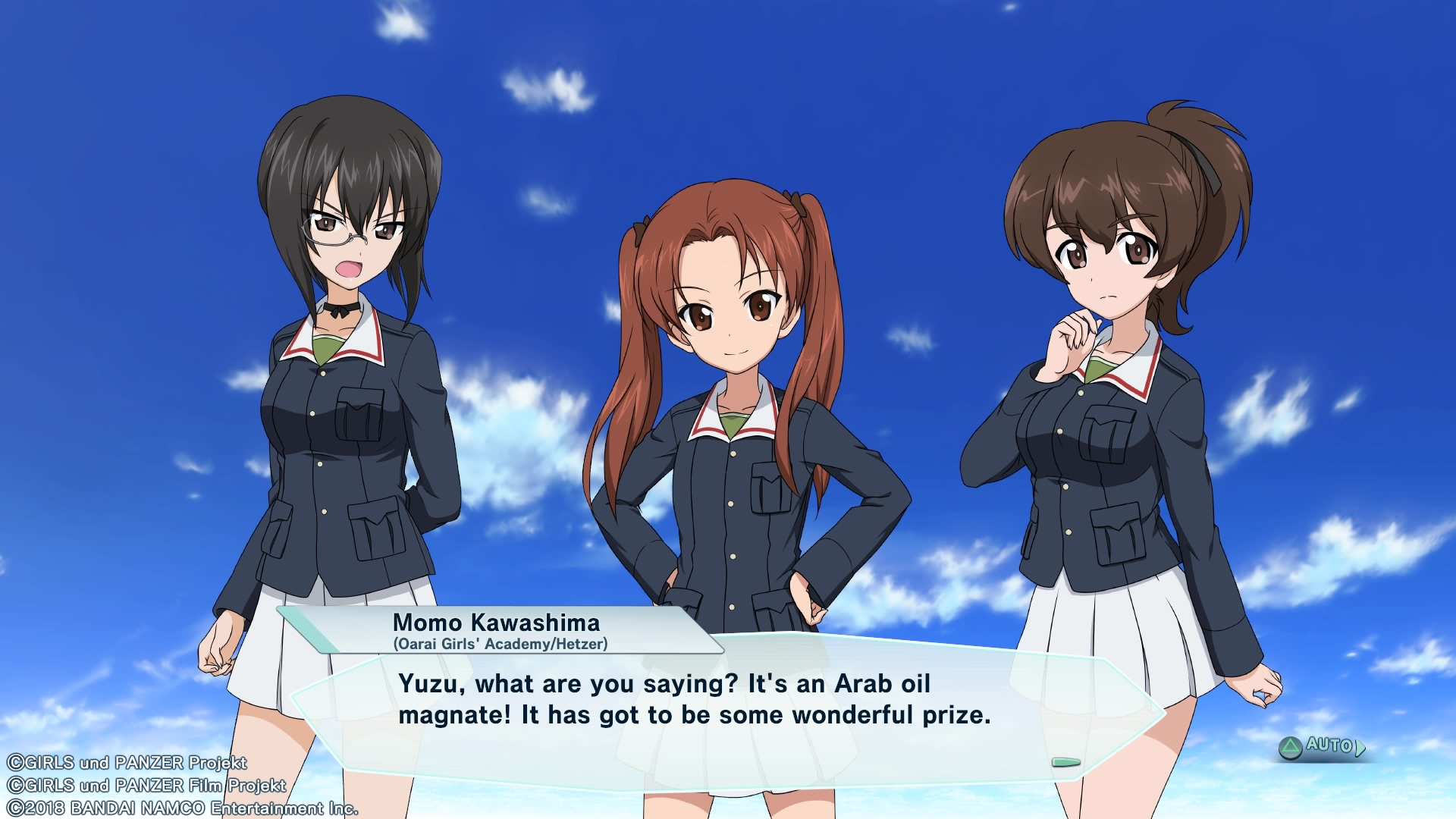 Girls und Panzer: Dream Tank Match review