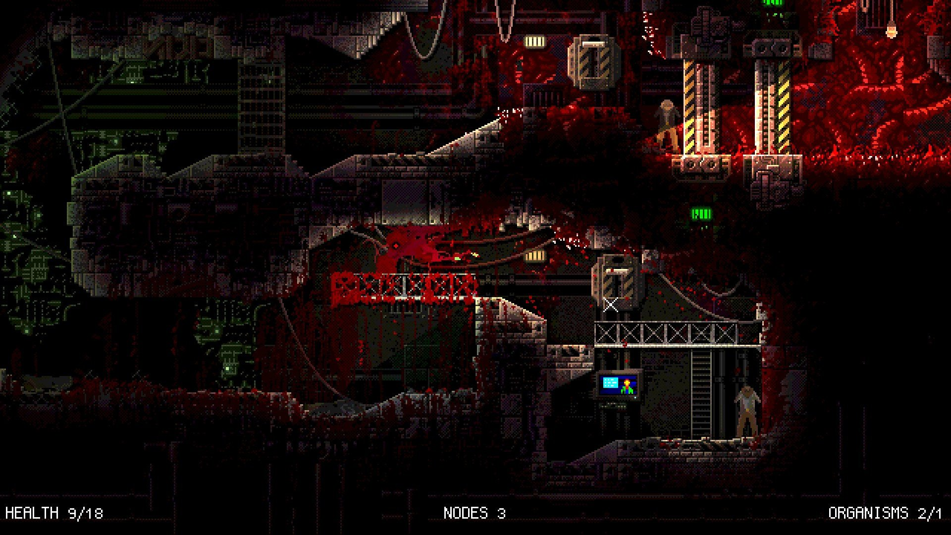 You Ll Prey On Humans In The Sci Fi Horror Game Carrion