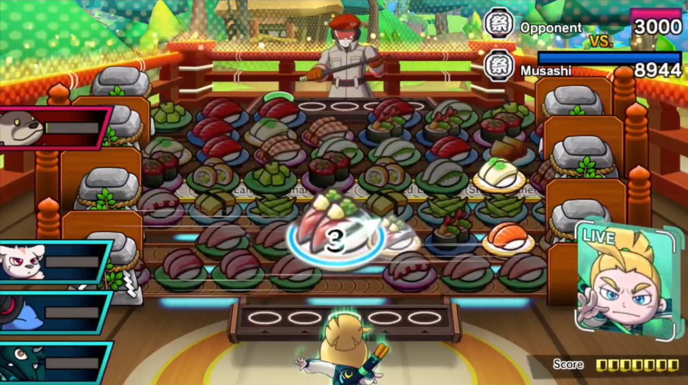 Sushi Striker is now heading to Switch, will launch in June screenshot