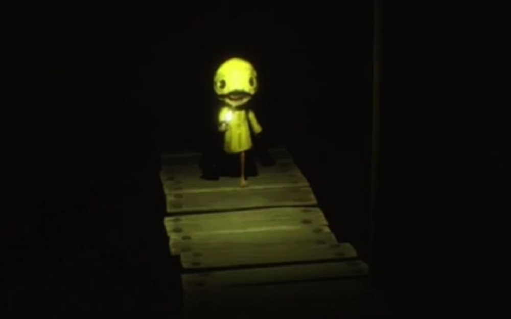 Little Nightmares coming to haunt your Switch with creepy Pac-Man tribute screenshot