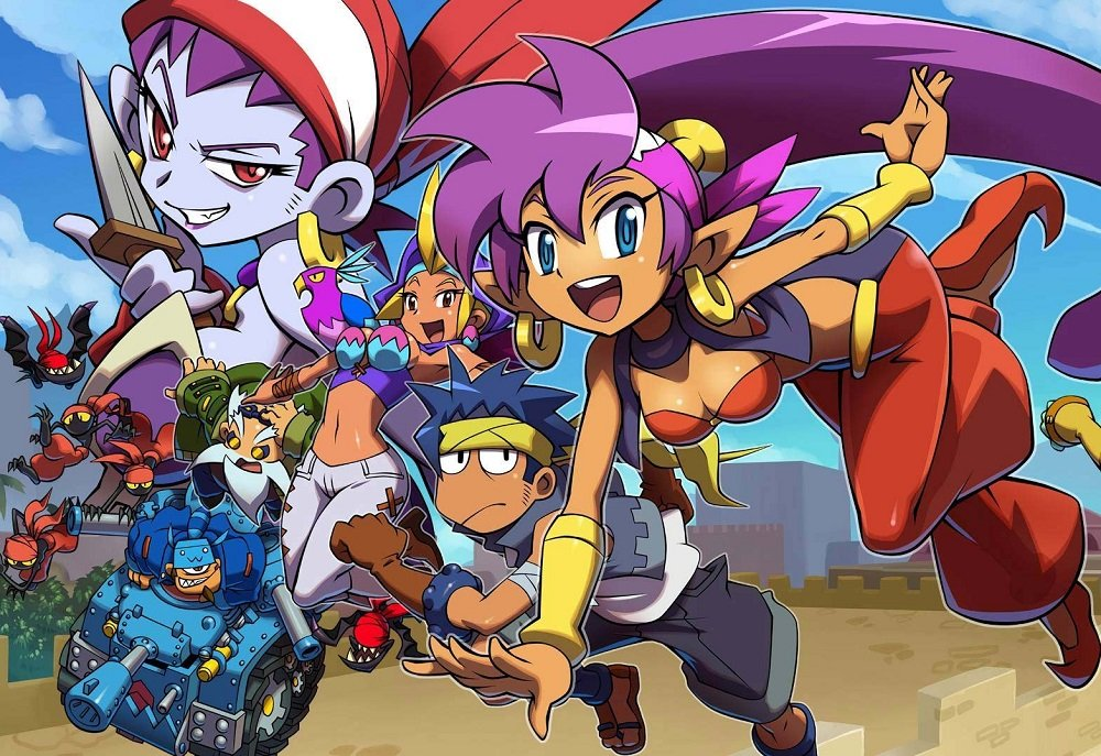 (Update) Australian eShop lists Shantae and the Pirate's Curse for Switch screenshot