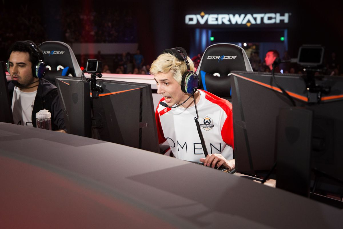 Overwatch League player and Winston pro 'xQc' released by Dallas Fuel screenshot