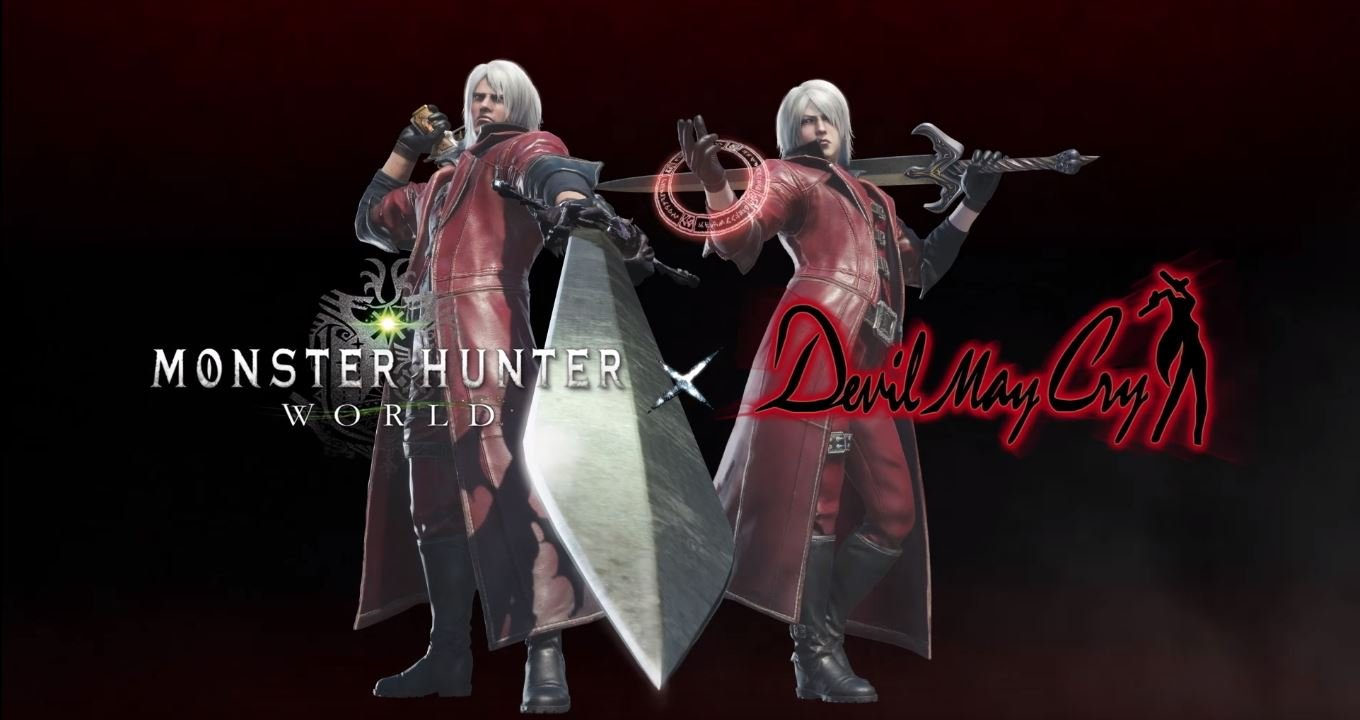 Capcom is bringing Devil Hunter Dante to Monster Hunter: World