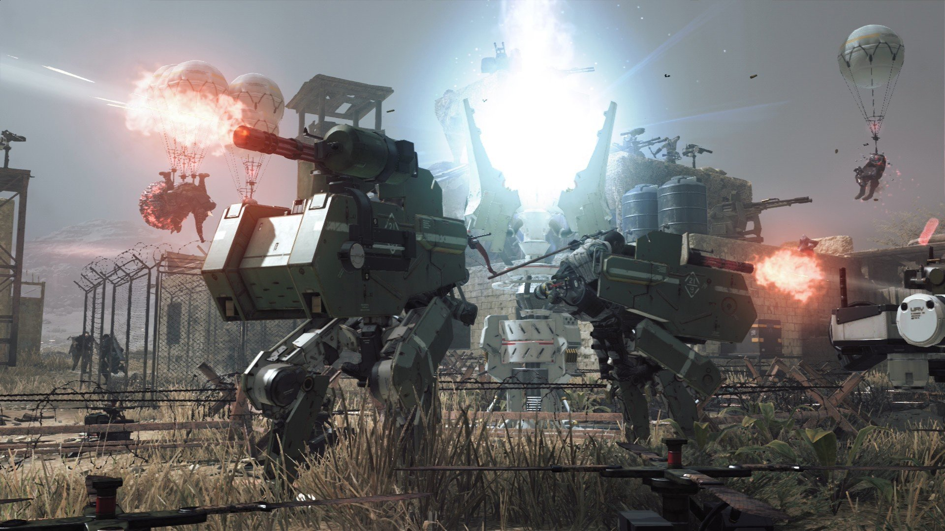 Metal Gear Survive adds co-op rescue missions screenshot