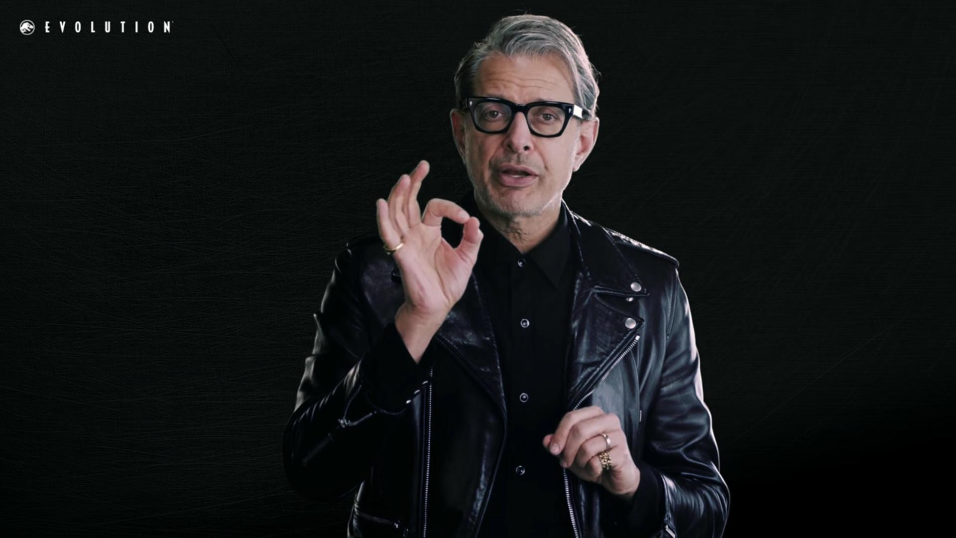 Hell yeah, Jeff Goldblum is in Jurassic World Evolution screenshot