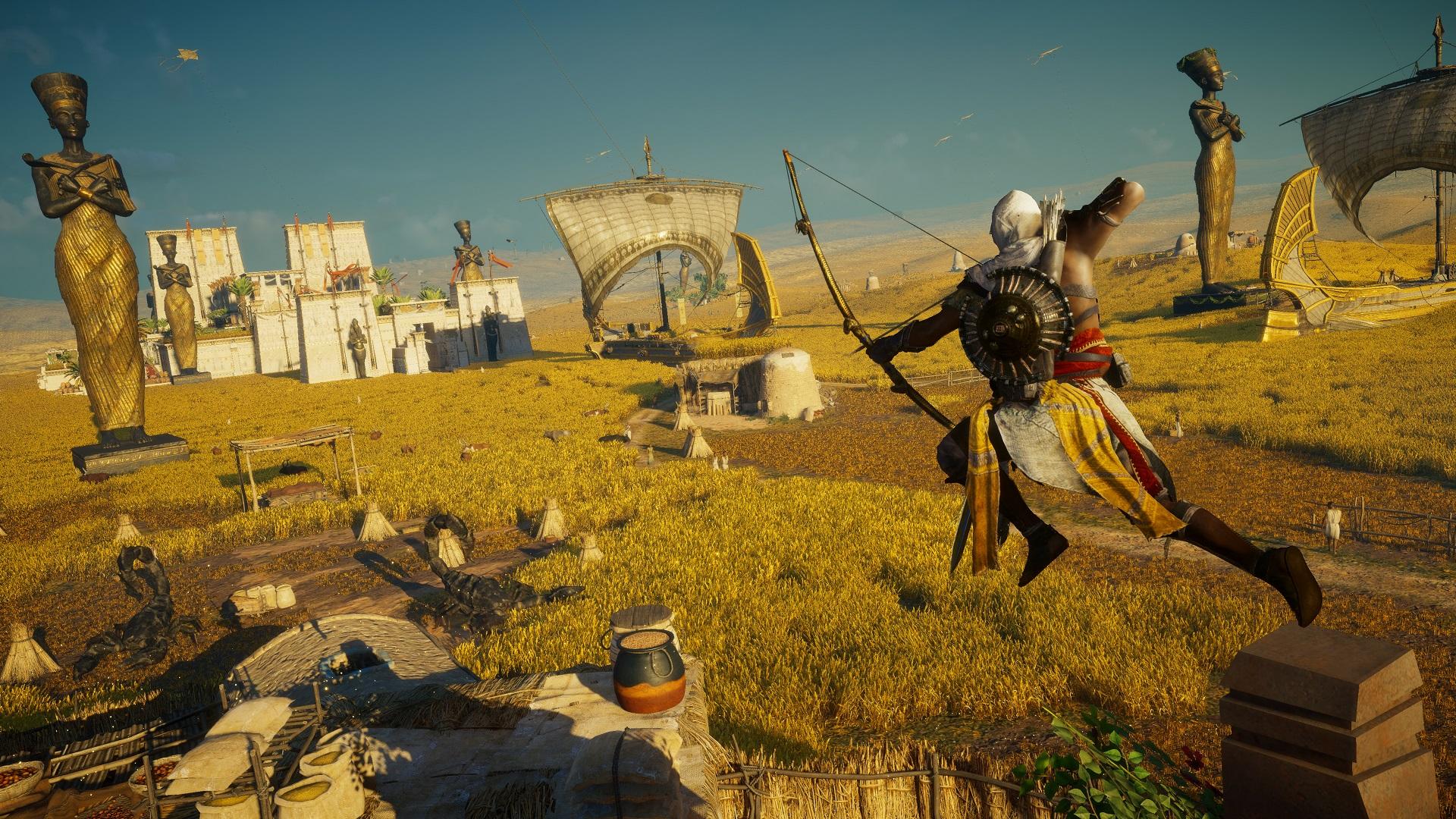 download assassins creed origins curse of the pharaohs dlc