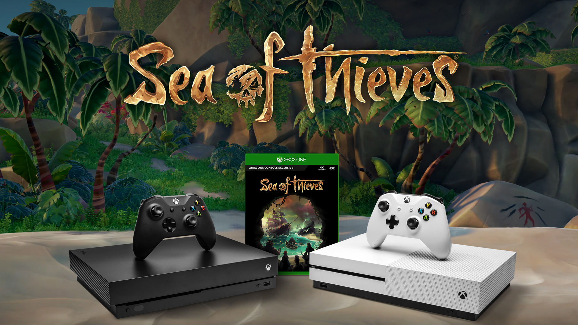 Xbox One X packing in Sea of Thieves for one week screenshot