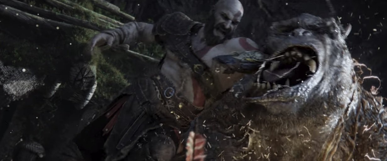 God of War's latest commercial heralds its impending release screenshot