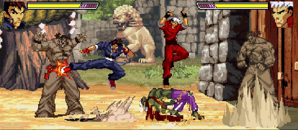gekido urban fighters ps1 review