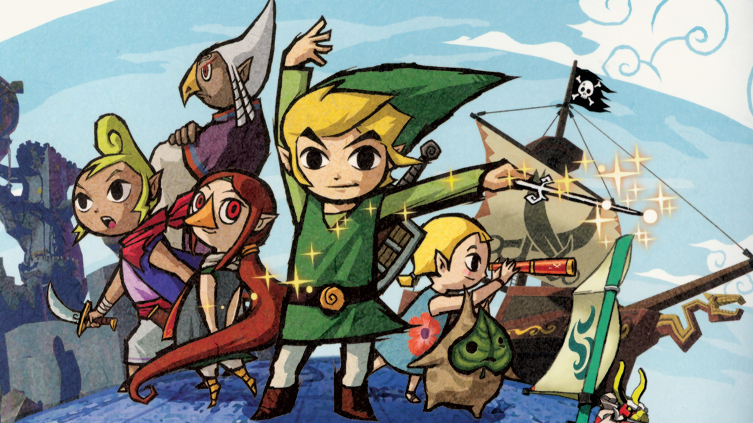 Looking back at 15 years of The Legend of Zelda: The Wind Waker screenshot