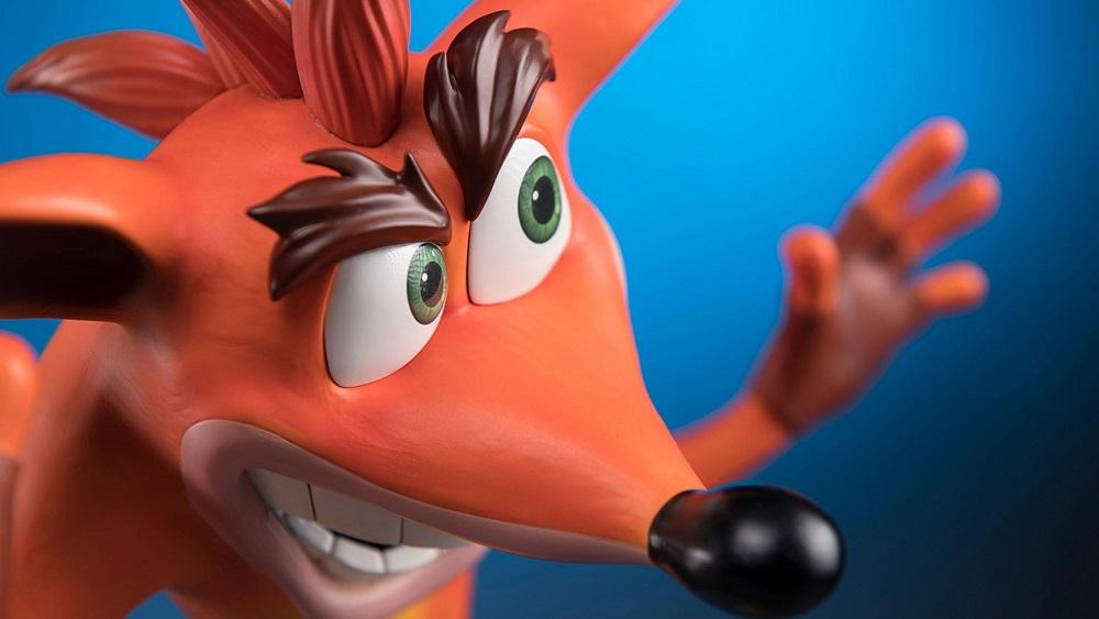 First 4 Figures video reveals upcoming Crash Bandicoot statue screenshot