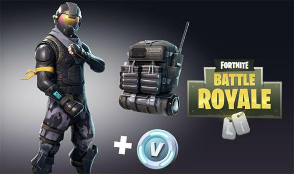 fortnite battle royale s starter pack is live now for 5 grants roughly 6 of v buck currency - fortnite v bucks xbox one game