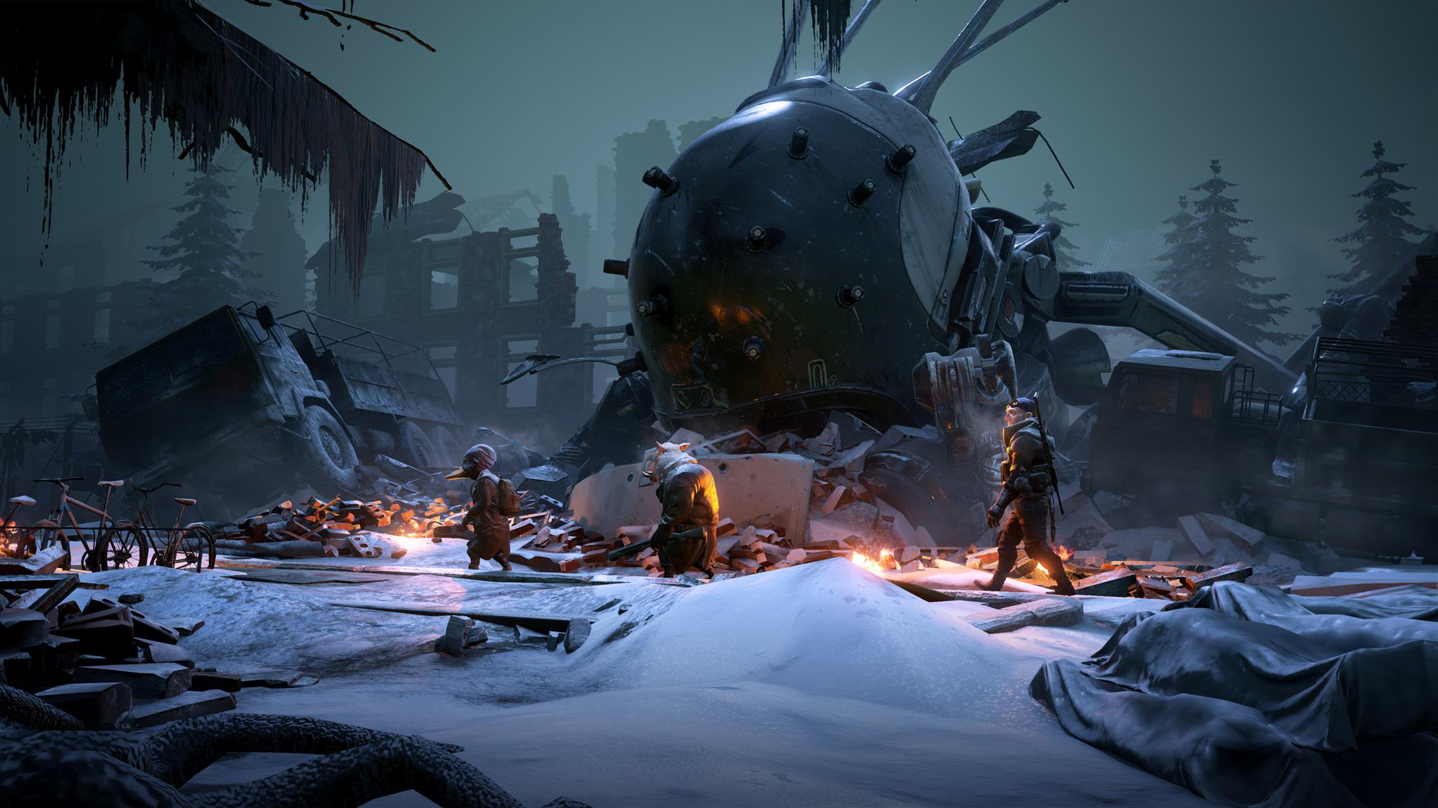 Mutant Year Zero's tactical adventure style could be something special screenshot