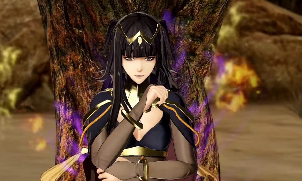 Everyone's favourite character Tharja arrives in Fire Emblem Warriors today screenshot