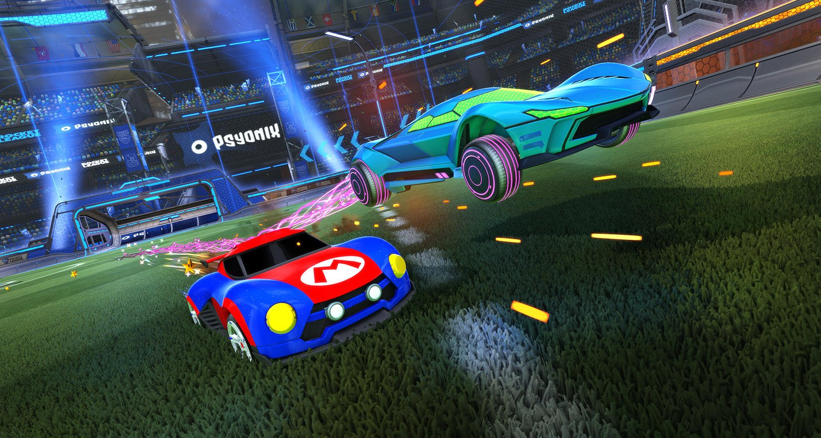 Psyonix is getting ready to completely overhaul Rocket League's visuals on Switch screenshot
