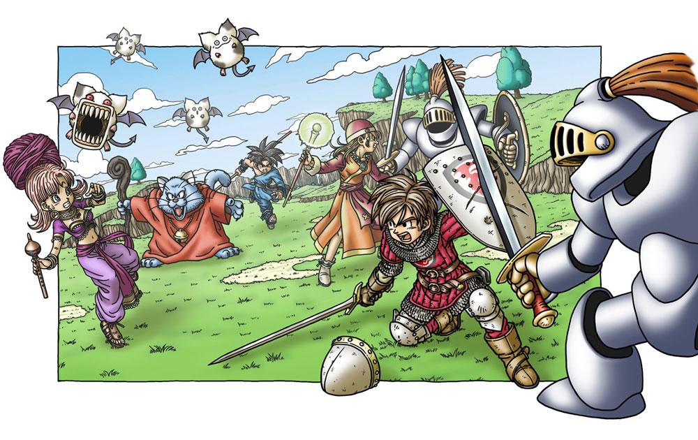 Viz Media brings us 30 years worth of Dragon Quest art this December