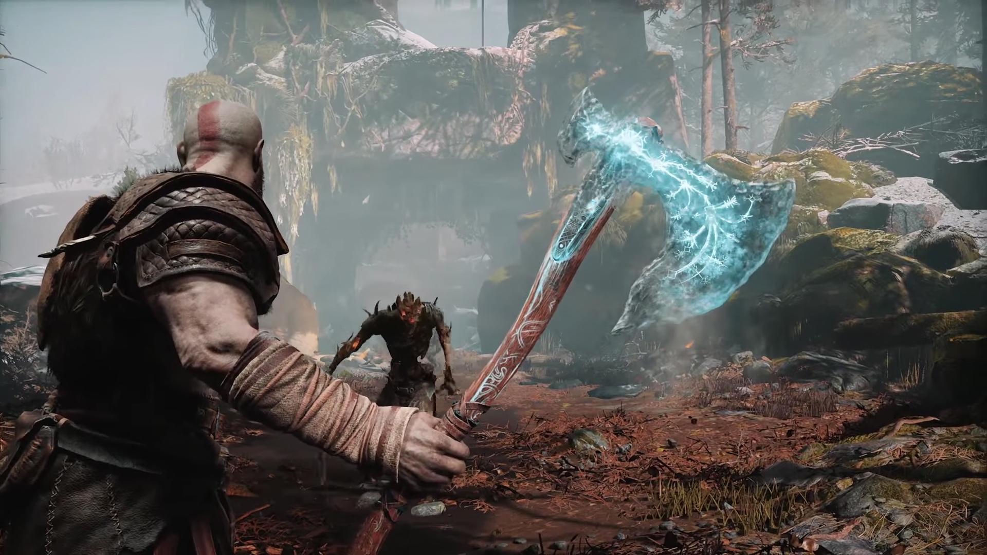God of War Kratos's Axe