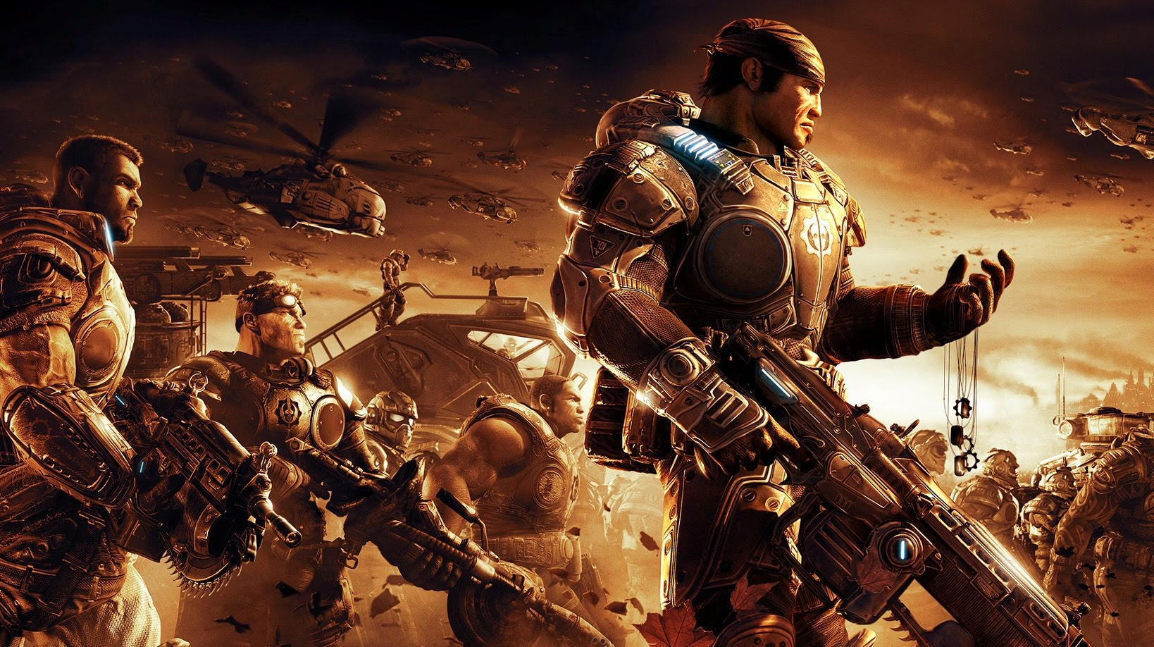 Gears of War 2 is getting Xbox One X enhancements, and all