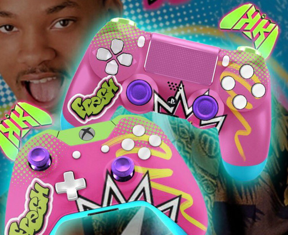 These Fresh Prince controllers are well...fresh screenshot