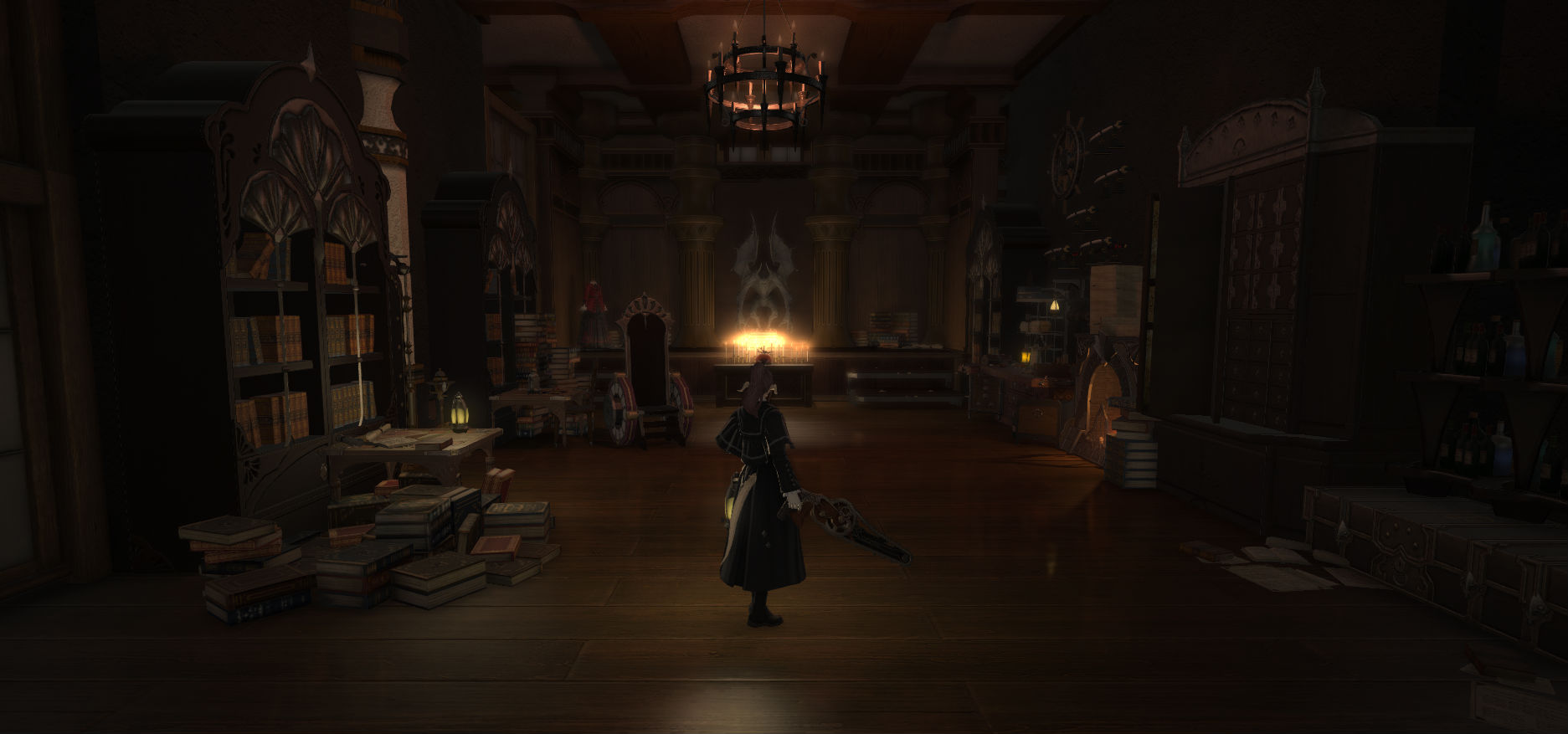 Someone recreated the Bloodborne Hunter's Workshop in Final