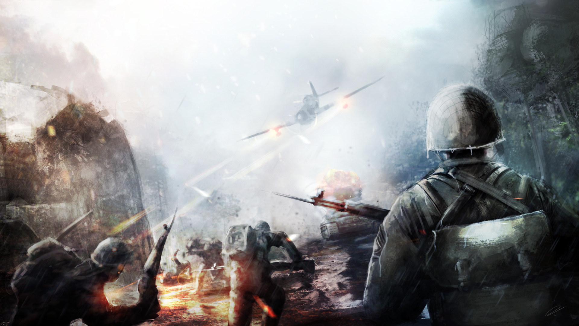 ea is reportedly working on a battlefield battle royale