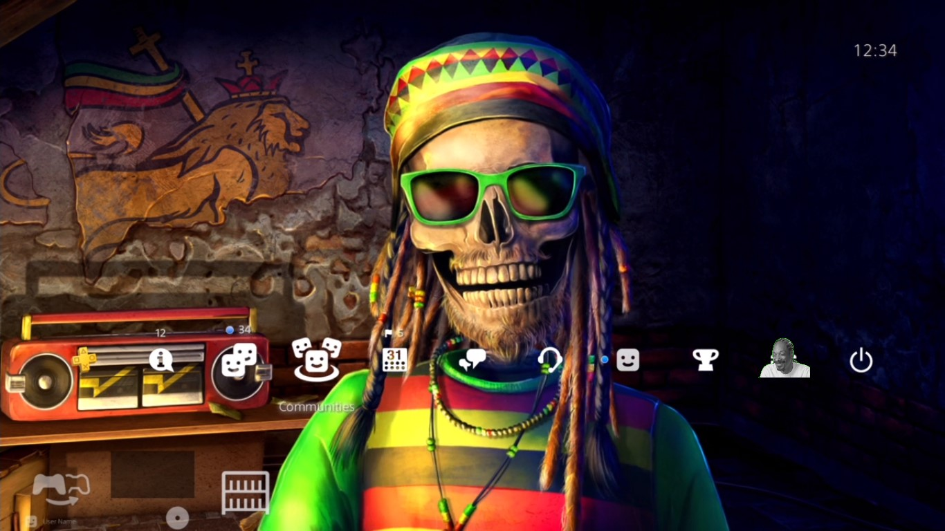 Attention Weed Likers This Ps4 Theme Is Hella Chill Brahs