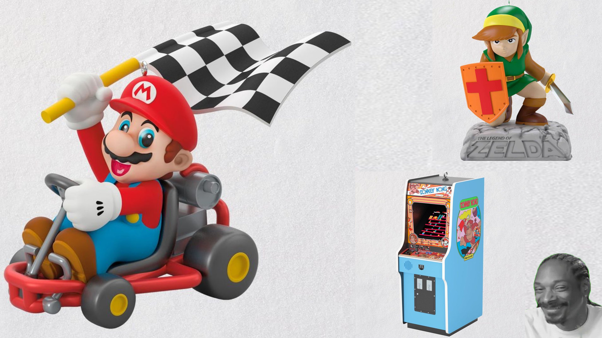 Hallmark will be selling some classic gaming ornaments this holiday