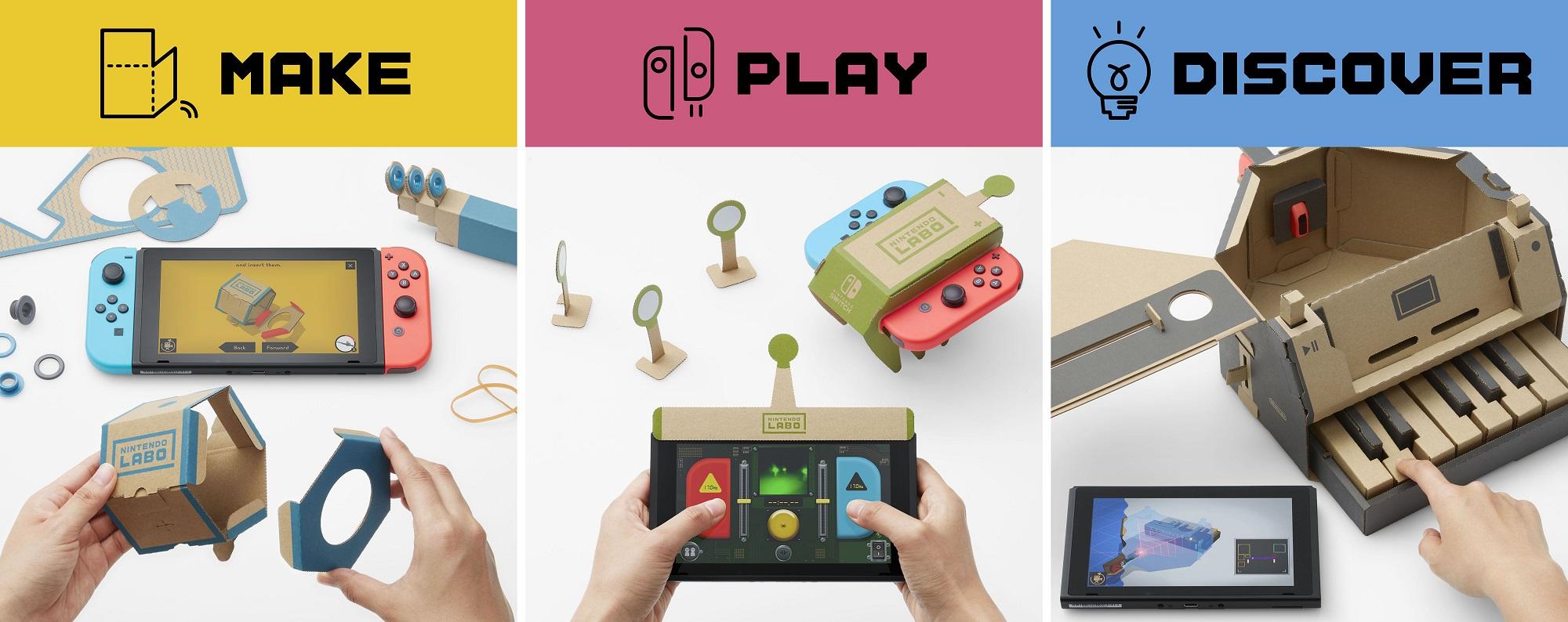 Review in Progress: Nintendo Labo - Variety Kit