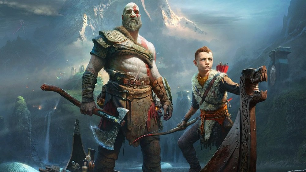 No surprise at where God of War is sitting in the UK Charts screenshot