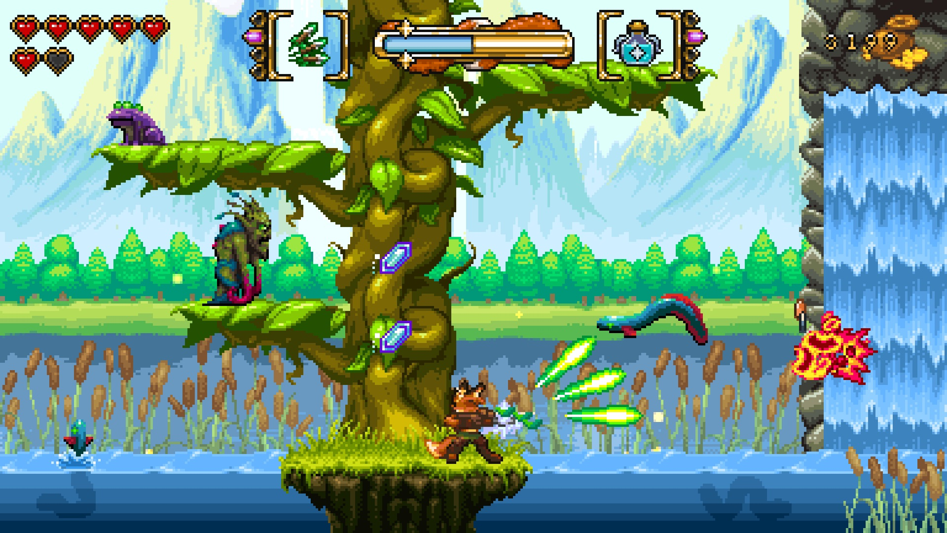 Fox N Forests is set for a May release screenshot