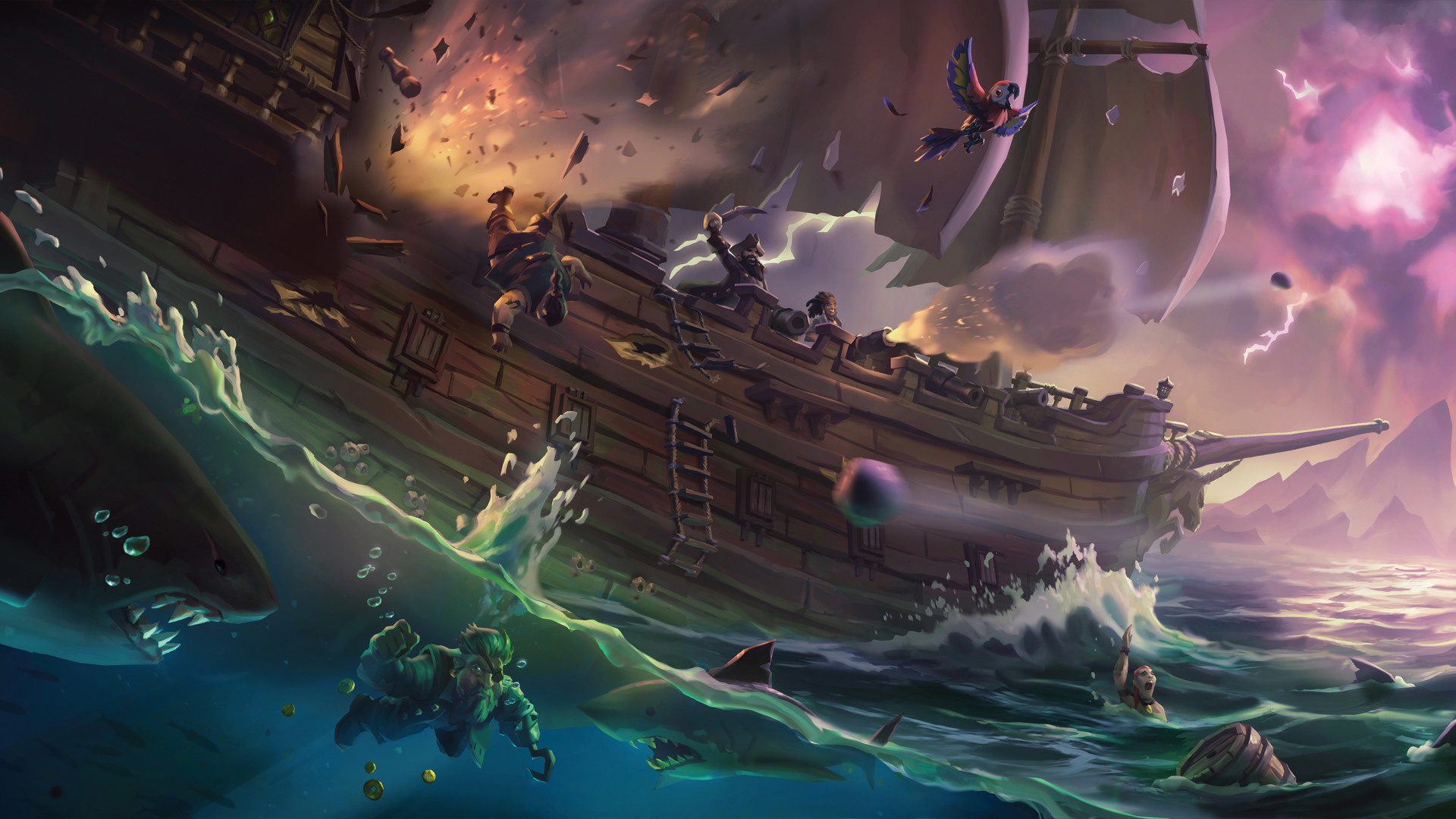 Sea of Thieves' new update changes a little and fixes a lot screenshot