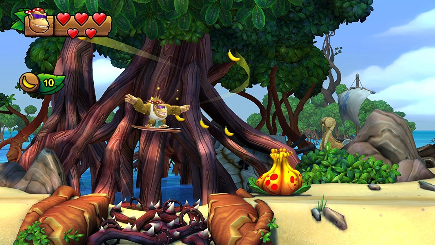 Donkey Kong Country: Tropical Freeze seems to check out at 1080p, 60 frames-per-second screenshot
