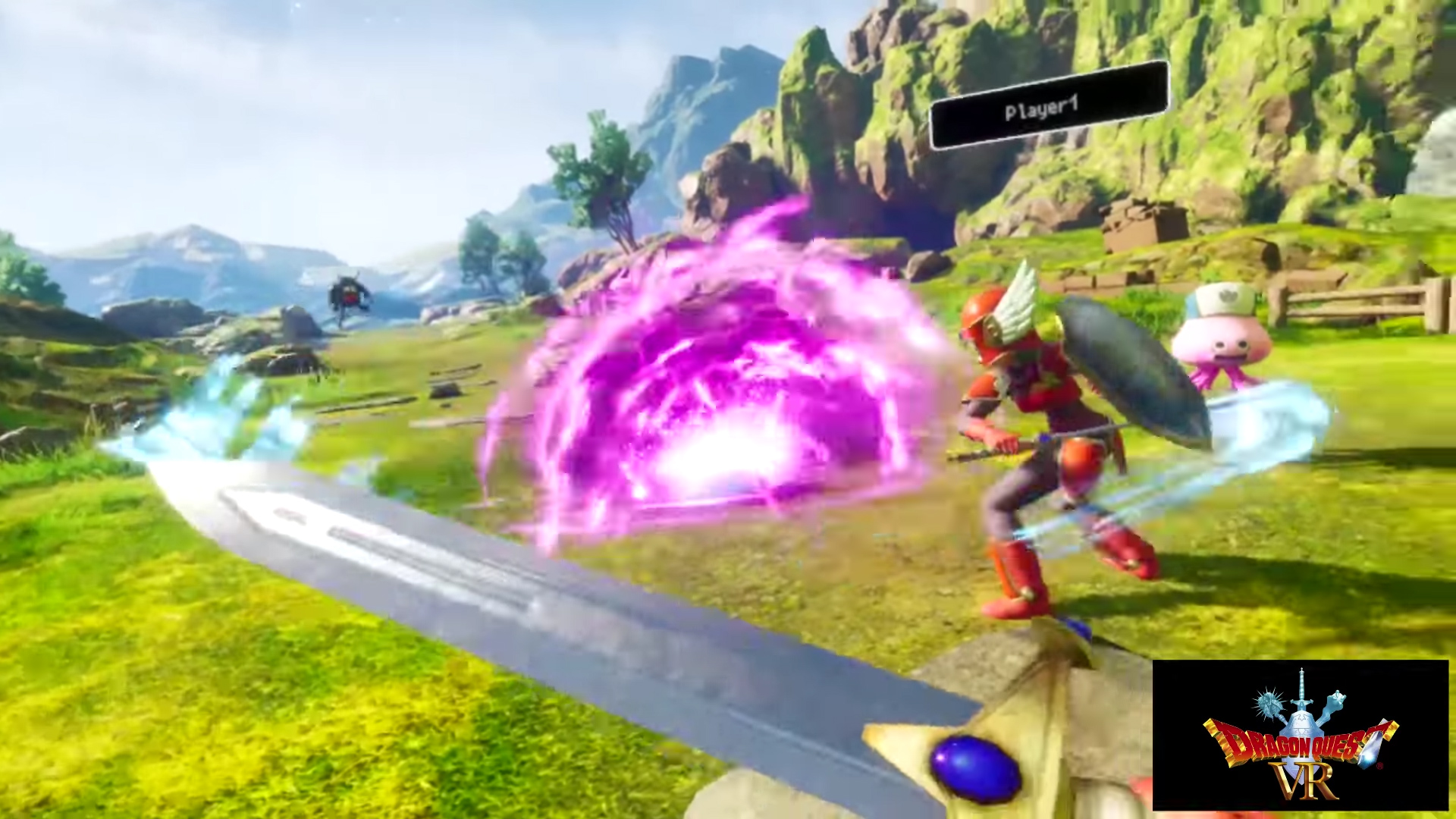 For as simple as it is, Dragon Quest VR looks dope screenshot