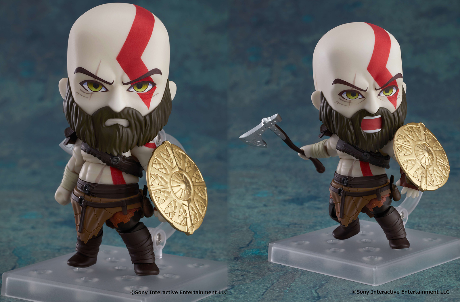 Nendoroid Kratos will be great at silently judging you from your desk screenshot