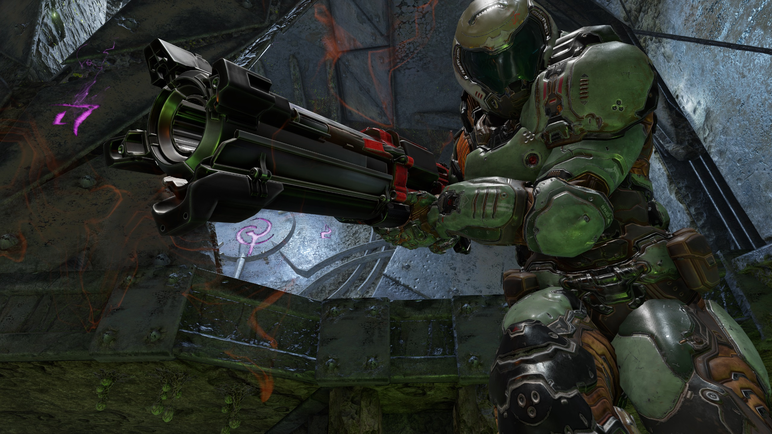 Quake Champions' April update launches alongside free-to-play trial screenshot