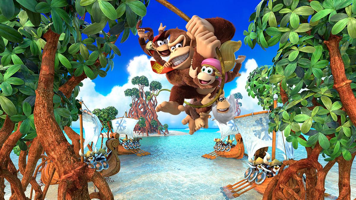 Review: Donkey Kong Country: Tropical Freeze (Switch) screenshot