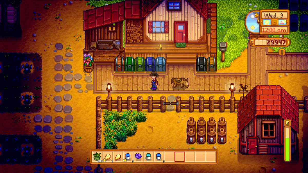 Stardew Valley is approaching one million copies sold on Switch screenshot
