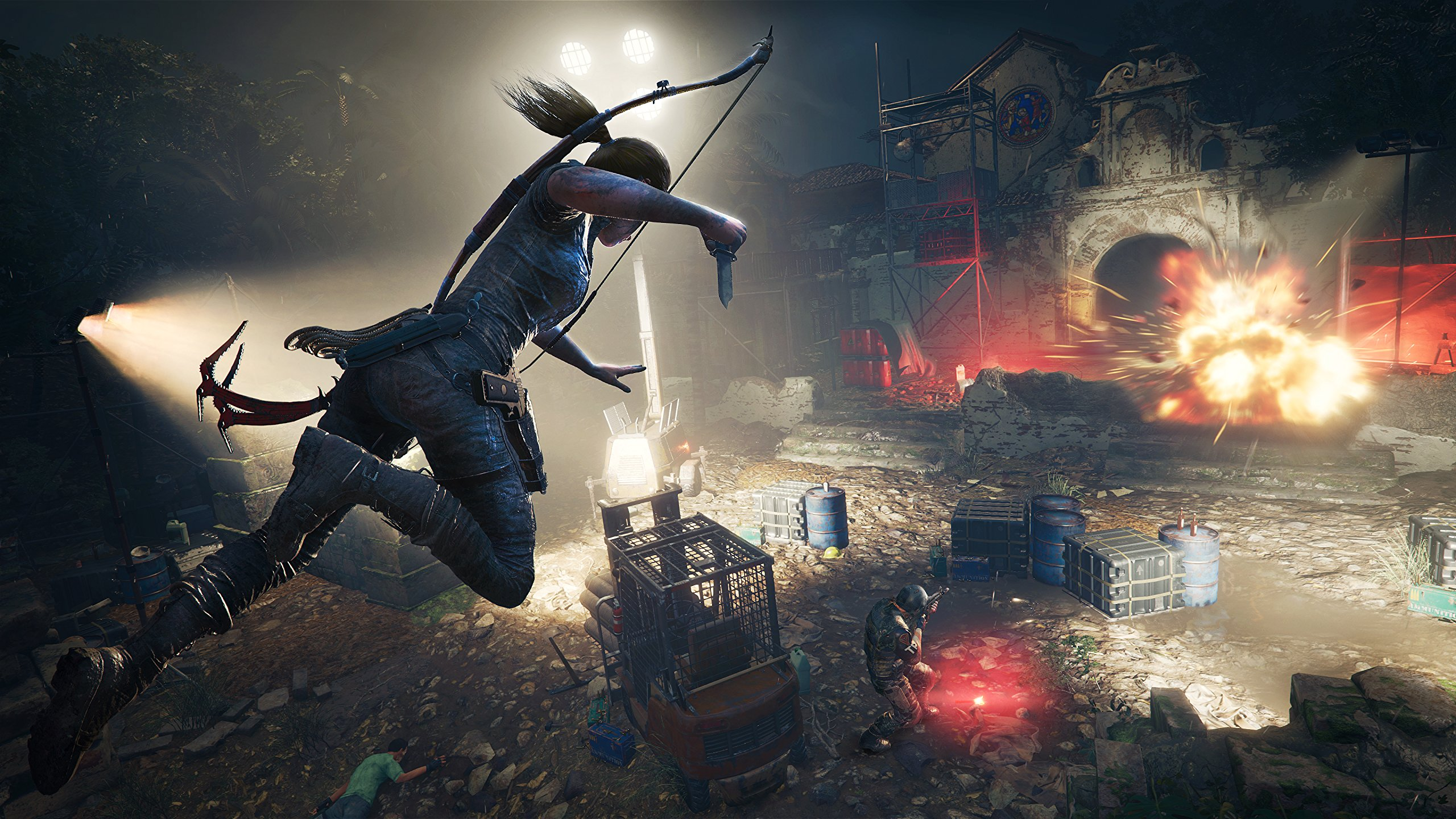 Shadow of the Tomb Raider promises Lara's most dangerous and terrifying adventure yet screenshot