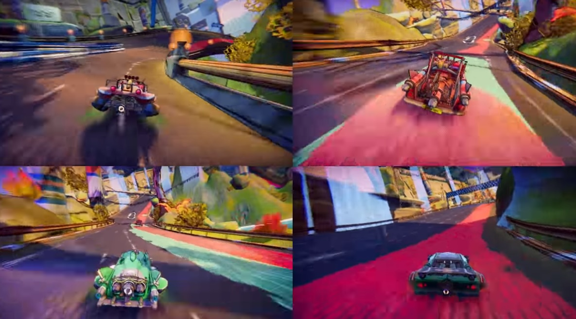 Trailblazers looks like it could scratch that F-Zero itch, and it's also coming to Switch screenshot