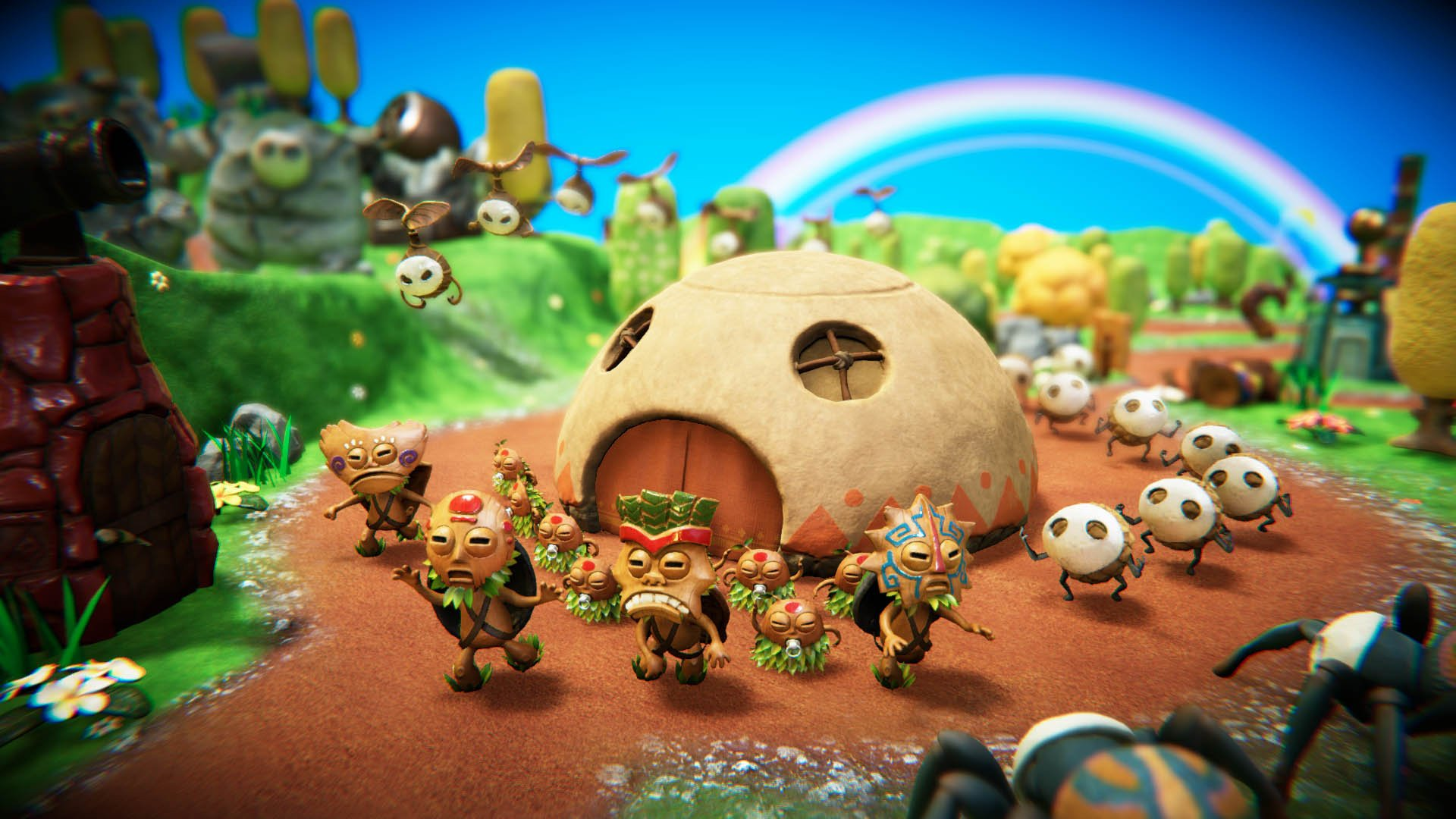 PixelJunk Monsters 2 has a short but sweet demo on PS4 and PC screenshot