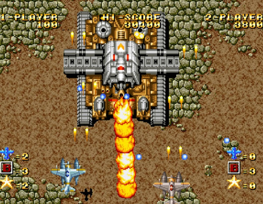 Classic SNK shmup Ghost Pilots takes flight on PS4, Xbox One and Switch screenshot