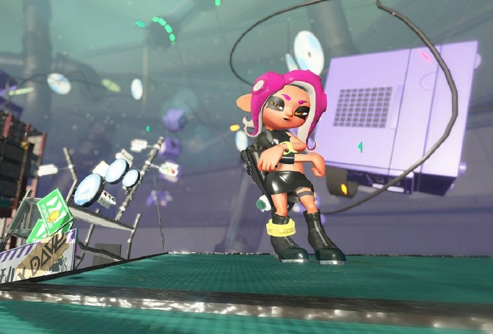Nintendo release footage of Splatoon 2's Octo Expansion in action screenshot