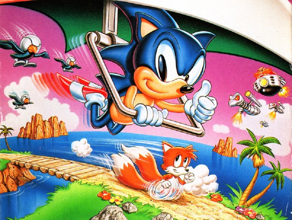 An unknown retailer recently sold a brand new copy of Sonic 2 for the Game Gear screenshot