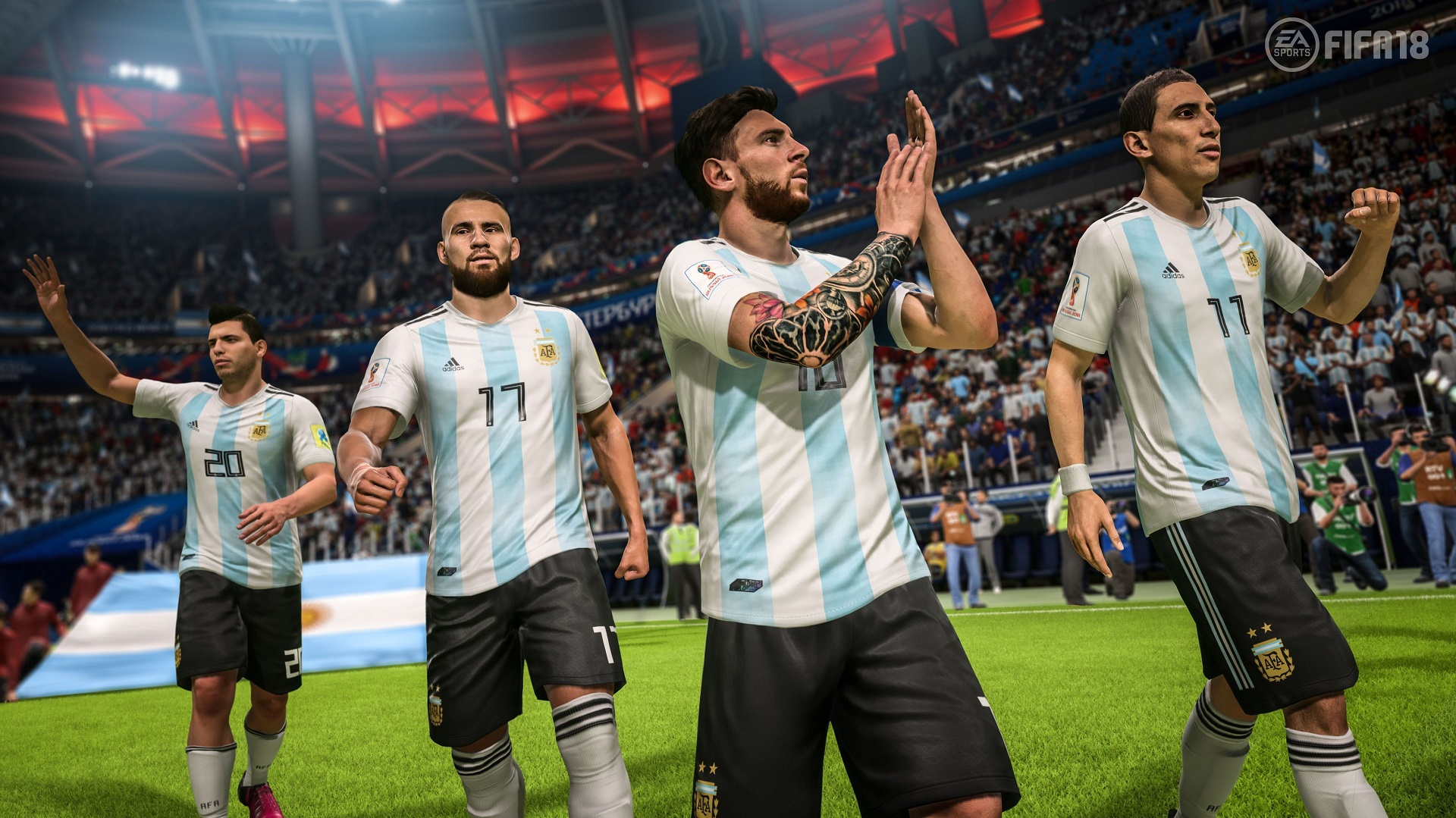 EA's adding a free World Cup mode to FIFA 18 screenshot