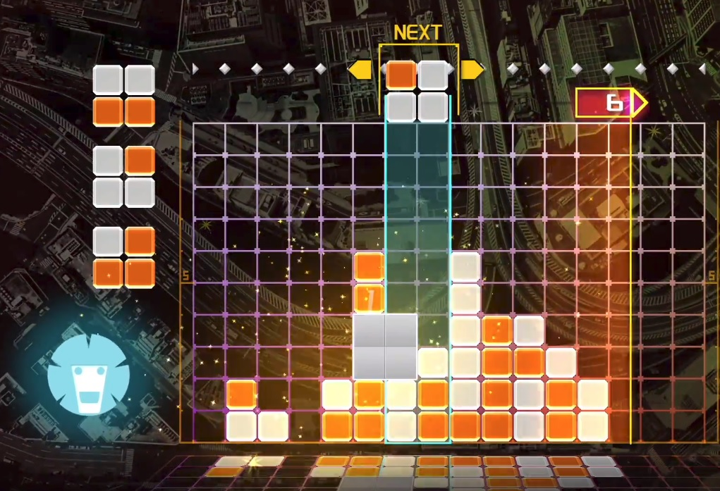 Lumines Remastered has been delayed to June, Switch included screenshot
