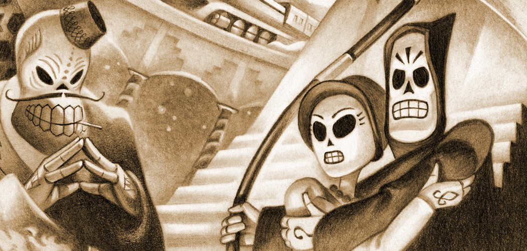 Grim Fandango's voice cast will reunite at E3 for a live reading screenshot