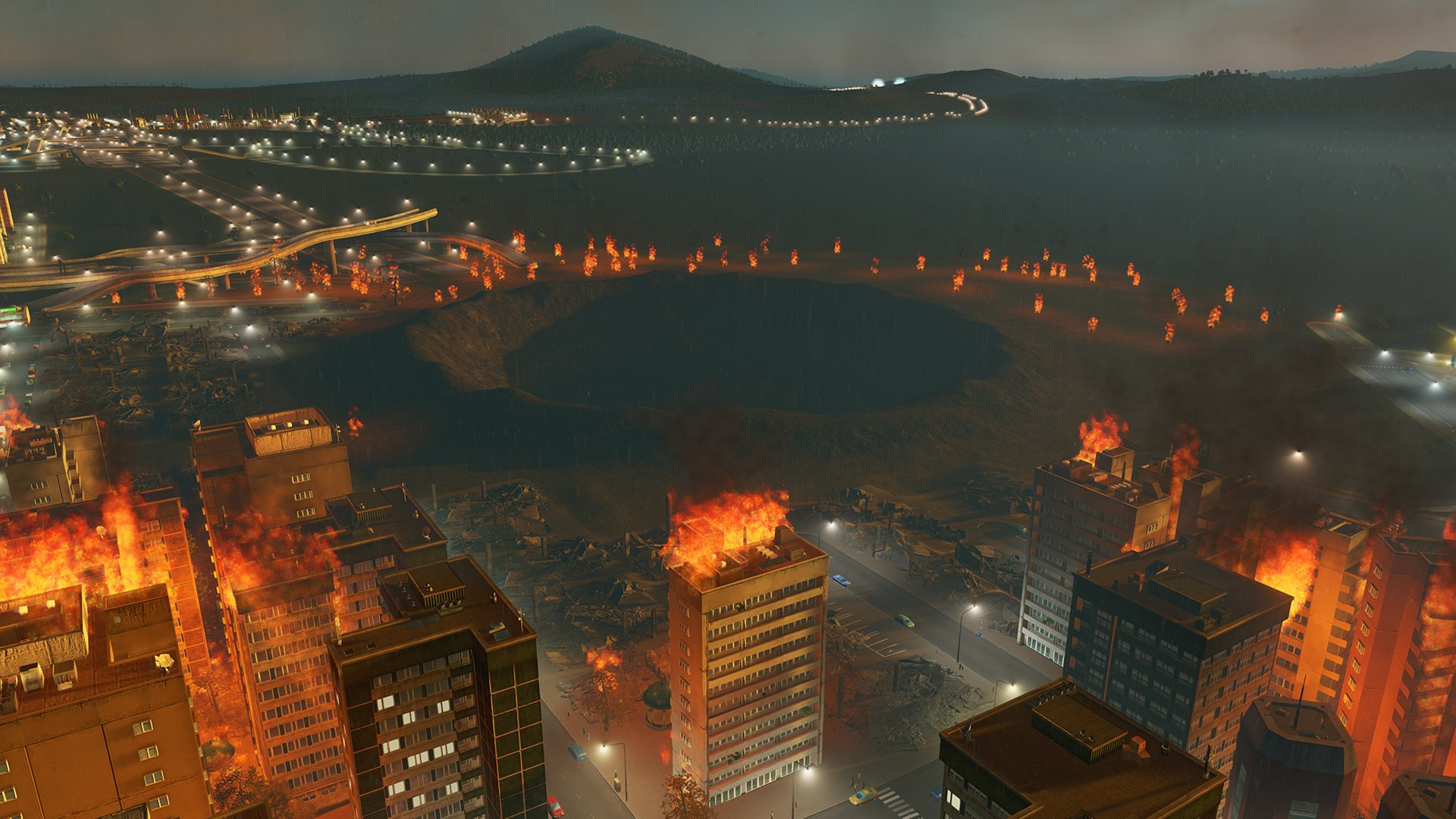 Natural disasters are coming soon to Cities: Skylines on consoles screenshot